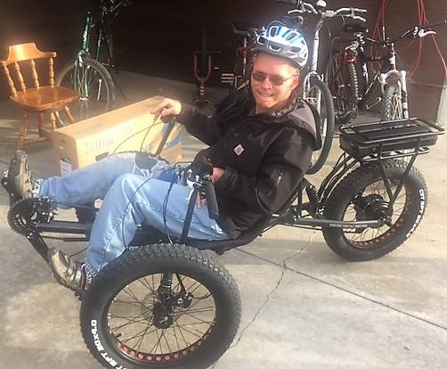 Donnie on Bike